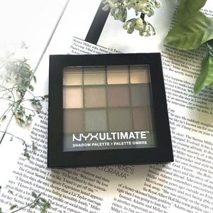 NEW! NYX Professional Ultimate Eyeshadow Palette
